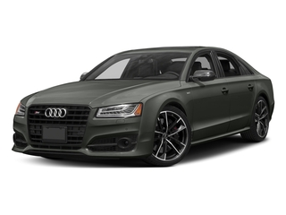 Daytona Gray Pearl Effect 2016 Audi S8 Pictures S8 Sedan 4D S8 Plus AWD V8 Turbo photos front view