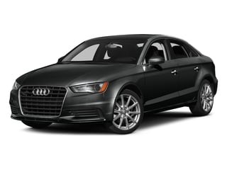 Mythos Black Metallic 2016 Audi A3 Pictures A3 Sedan 4D 1.8T Premium 2WD I4 Turbo photos front view