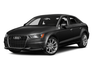 Brilliant Black 2016 Audi A3 Pictures A3 Sed 4D 2.0T Premium Plus S-Line AWD photos front view