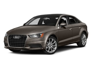 Dakota Gray Metallic 2016 Audi A3 Pictures A3 Sedan 4D 2.0T Prestige AWD I4 Turbo photos front view