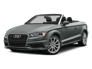 Monsoon Gray Metallic/Black Roof 2016 Audi A3 Pictures A3 Conv 2D 2.0T Premium Plus S-Line AWD photos front view