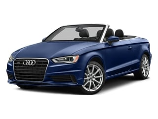 Scuba Blue Metallic/Black Roof 2016 Audi A3 Pictures A3 Conv 2D 2.0T Premium Plus S-Line AWD photos front view