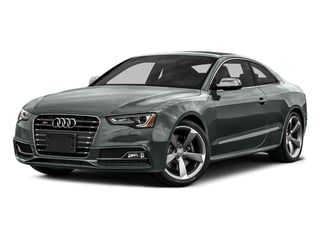 Monsoon Gray Metallic 2016 Audi S5 Pictures S5 Coupe 2D S5 Prestige AWD photos front view