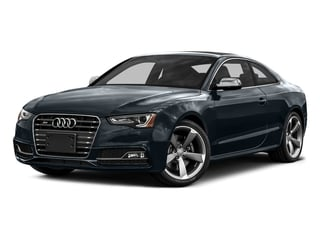 Moonlight Blue Metallic 2016 Audi S5 Pictures S5 Coupe 2D S5 Prestige AWD photos front view