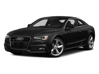 Brilliant Black 2016 Audi A5 Pictures A5 Coupe 2D Premium Plus AWD photos front view