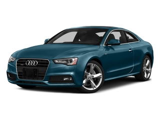 Utopia Blue Metallic 2016 Audi A5 Pictures A5 Coupe 2D Premium AWD photos front view