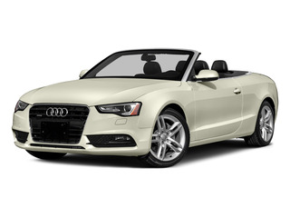Glacier White Metallic/Red Roof 2016 Audi A5 Pictures A5 Convertible 2D Premium AWD photos front view