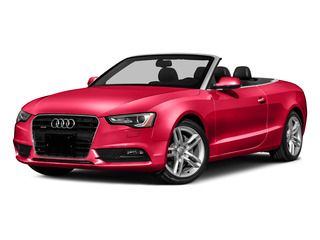 Misano Red Pearl Effect/Black Roof 2016 Audi A5 Pictures A5 Convertible 2D Premium AWD photos front view