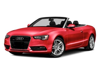 Misano Red Pearl Effect/Black Roof 2016 Audi A5 Pictures A5 Convertible 2D Premium Plus AWD photos front view