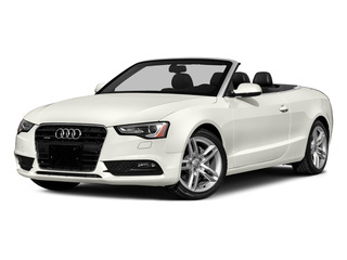 Ibis White/Red Roof 2016 Audi A5 Pictures A5 Convertible 2D Premium AWD photos front view