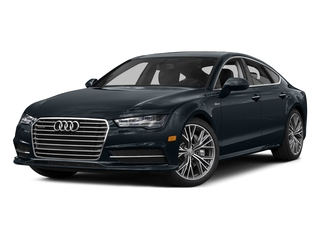 Moonlight Blue Metallic 2016 Audi A7 Pictures A7 Sedan 4D 3.0T Premium Plus AWD photos front view