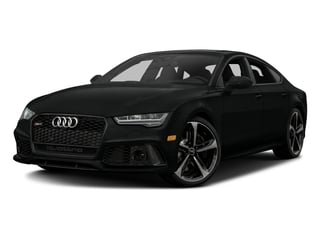 Mythos Black Metallic 2016 Audi RS 7 Pictures RS 7 Sedan 4D Prestige AWD photos front view