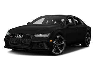 Mythos Black Metallic 2016 Audi RS 7 Pictures RS 7 Sedan 4D RS7 Performance AWD V8 photos front view