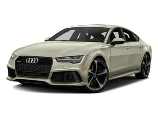 Glacier White Metallic 2016 Audi RS 7 Pictures RS 7 Sedan 4D Prestige AWD photos front view