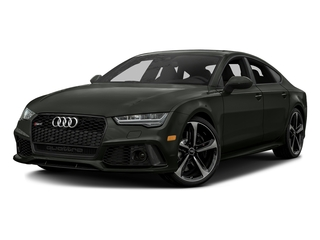Daytona Gray Matte Effect 2016 Audi RS 7 Pictures RS 7 Sedan 4D Prestige AWD photos front view
