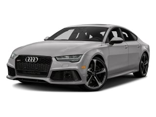 Florett Silver Metallic 2016 Audi RS 7 Pictures RS 7 Sedan 4D Prestige AWD photos front view