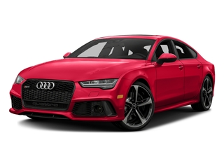 Misano Red Pearl Effect 2016 Audi RS 7 Pictures RS 7 Sedan 4D Prestige AWD photos front view