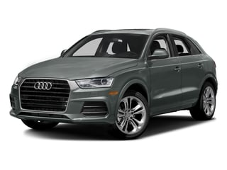 Monsoon Gray Metallic 2016 Audi Q3 Pictures Q3 Utility 4D 2.0T Prestige 2WD photos front view