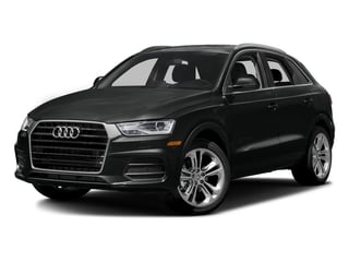 Mythos Black Metallic 2016 Audi Q3 Pictures Q3 Utility 4D 2.0T Prestige 2WD photos front view