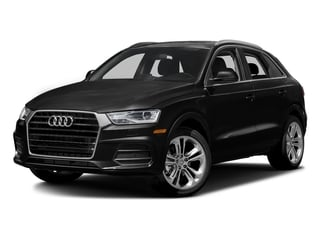 Brilliant Black 2016 Audi Q3 Pictures Q3 Utility 4D 2.0T Premium Plus 2WD photos front view