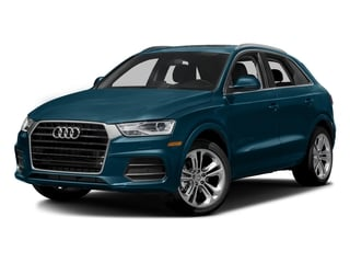 Utopia Blue Metallic 2016 Audi Q3 Pictures Q3 Utility 4D 2.0T Prestige 2WD photos front view