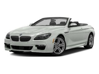 Alpine White 2016 BMW 6 Series Pictures 6 Series Convertible 2D 640xi AWD I6 photos front view