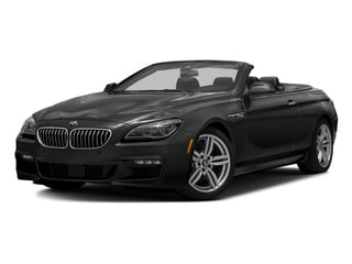 Black Sapphire Metallic 2016 BMW 6 Series Pictures 6 Series Convertible 2D 640xi AWD I6 photos front view