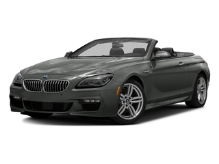 Space Gray Metallic 2016 BMW 6 Series Pictures 6 Series Convertible 2D 640xi AWD I6 photos front view