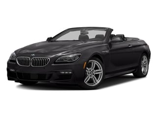 Ruby Black Metallic 2016 BMW 6 Series Pictures 6 Series Convertible 2D 640xi AWD I6 photos front view