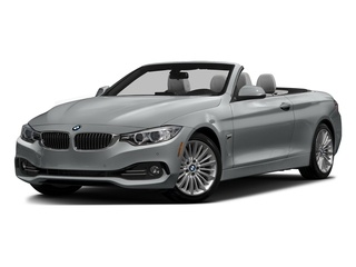Glacier Silver Metallic 2016 BMW 4 Series Pictures 4 Series Convertible 2D 428xi AWD I4 Turbo photos front view