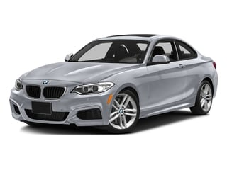 Glacier Silver Metallic 2016 BMW 2 Series Pictures 2 Series Coupe 2D 228i I4 Turbo photos front view