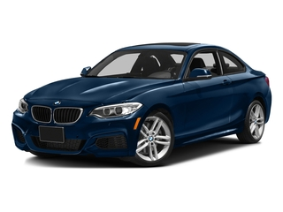 Midnight Blue Metallic 2016 BMW 2 Series Pictures 2 Series Coupe 2D 228i I4 Turbo photos front view