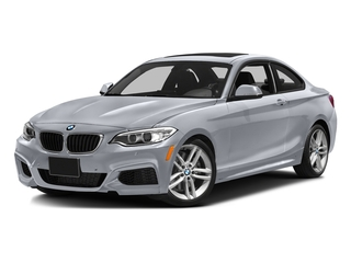 Moonlight Silver Metallic 2016 BMW 2 Series Pictures 2 Series Coupe 2D 228i I4 Turbo photos front view
