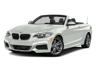 Alpine White 2016 BMW 2 Series Pictures 2 Series Convertible 2D M235i I6 Turbo photos front view