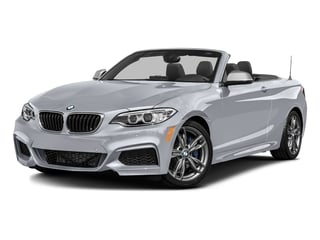 Glacier Silver Metallic 2016 BMW 2 Series Pictures 2 Series Convertible 2D M235i I6 Turbo photos front view