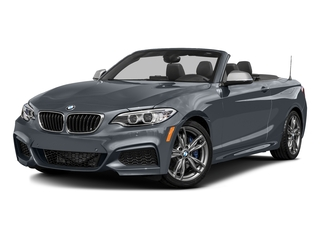 Mineral Gray Metallic 2016 BMW 2 Series Pictures 2 Series Convertible 2D M235i I6 Turbo photos front view