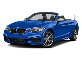 Estoril Blue Metallic 2016 BMW 2 Series Pictures 2 Series Convertible 2D M235i I6 Turbo photos front view