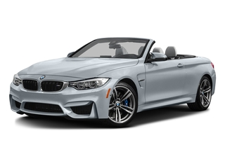 Silverstone Metallic 2016 BMW M4 Pictures M4 Convertible 2D M4 I6 Turbo photos front view