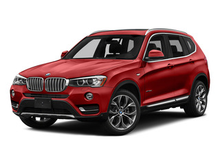 Melbourne Red Metallic 2016 BMW X3 Pictures X3 Utility 4D 35i AWD I6 Turbo photos front view