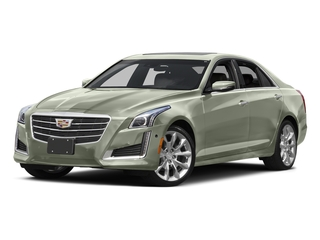 Crystal White Tricoat 2016 Cadillac CTS Sedan Pictures CTS Sedan 4D Luxury I4 Turbo photos front view