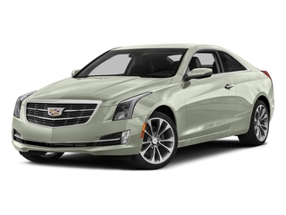 Crystal White Tricoat 2016 Cadillac ATS Coupe Pictures ATS Coupe 2D Performance V6 photos front view