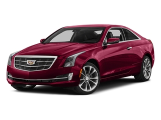 Red Obsession Tintcoat 2016 Cadillac ATS Coupe Pictures ATS Coupe 2D Performance V6 photos front view