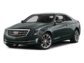 Phantom Gray Metallic 2016 Cadillac ATS Coupe Pictures ATS Coupe 2D Performance V6 photos front view