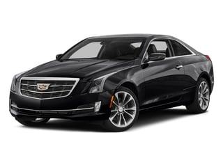 Stellar Black Metallic 2016 Cadillac ATS Coupe Pictures ATS Coupe 2D Performance V6 photos front view
