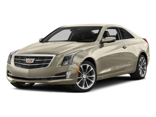 Silver Coast Metallic 2016 Cadillac ATS Coupe Pictures ATS Coupe 2D Performance V6 photos front view