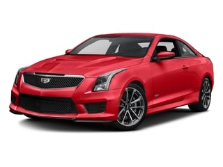 Velocity Red 2016 Cadillac ATS-V Coupe Pictures ATS-V Coupe 2D V-Series V6 Turbo photos front view