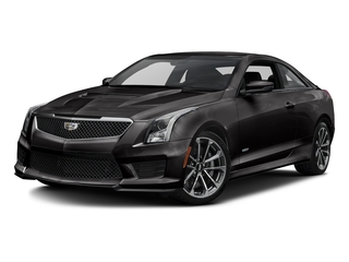 Black Raven 2016 Cadillac ATS-V Coupe Pictures ATS-V Coupe 2D V-Series V6 Turbo photos front view