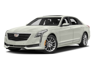 Crystal White Tricoat 2016 Cadillac CT6 Pictures CT6 Sedan 4D Luxury 3.0TT AWD V6 Turbo photos front view