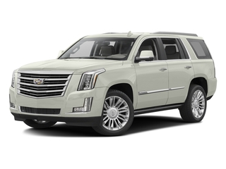 Crystal White Tricoat 2016 Cadillac Escalade Pictures Escalade Utility 4D Platinum 4WD V8 photos front view