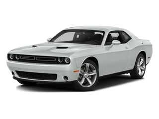Bright White Clearcoat 2016 Dodge Challenger Pictures Challenger Coupe 2D SXT V6 photos front view